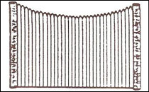 Scallop Screen Fence